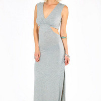 Janice Side Slit Maxi Dress $39