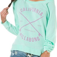 BILLABONG EASE OUT RAGLAN PULLOVER | Swell.com