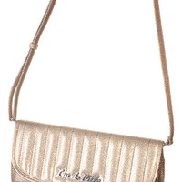 Glitzy Garbo Retro Patent Purse
