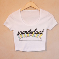 Wanderlust Crop Top