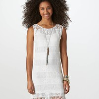 AE Crocheted Festival Dress | American Eagle Outfitters