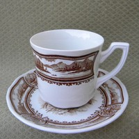J & G Meakin  England  Vintage Americiana Cup and Saucer | MugZee - Ceramics & Pottery on ArtFire