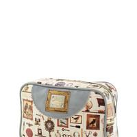 Treasured Antiques Makeup Bag | Mod Retro Vintage Bath | ModCloth.com