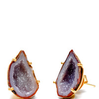 Geode Earrings | LEIF