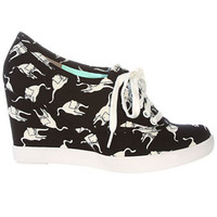 Meow Mix Wedge Sneakers - PLASTICLAND