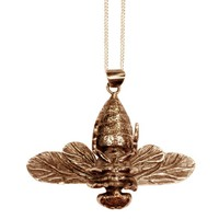 Honey Bee Pendant Bronze