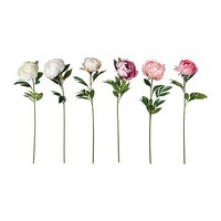 SMYCKA Artificial flower, Peony assorted colors - IKEA