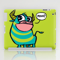 MooGrin iPad Case by Mirabilis
