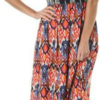 THML MIXED PRINT MAXI DRESS | Swell.com