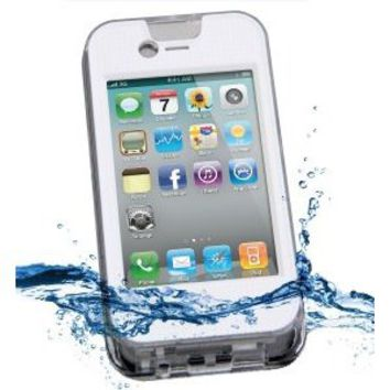 iContact Waterproof Case Designed for iPhone 4 and 4S - IPX7 Certified with Intelli-filter Design Touch screen - Retail Packaging complete w