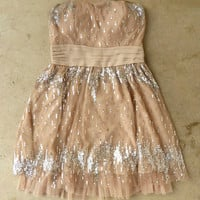 Champagne Fizz Party Dress [3595] - $52.00 : Vintage Inspired Clothing & Affordable Summer Frocks, deloom | Modern. Vintage. Crafted.