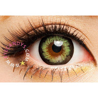 Royal Vision Girly Chip Green Circle Lenses Colored Contacts Cosmetic Color Circle Lens | EyeCandy's