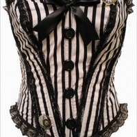 Dr.Jekyll Romantic Lush Stripe Medium | kawaiiparlor - Clothing on ArtFire