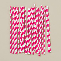 Soda Fountain Straws, Pastel