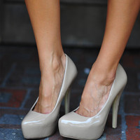 The Perfect Nude Heel: Patent Leather | Hope's