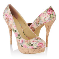 Floral Stiletto Pumps | FOREVER21 - 2000042168