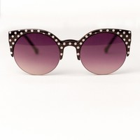 Half  Moon Polka Dot Sunnies