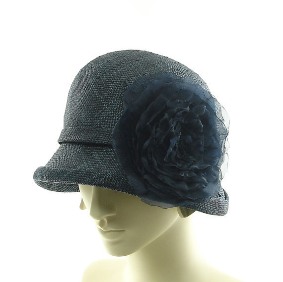cloche hat for women new 1920s 1930s from themillineryshop on
