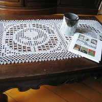 Free Crochet Patterns for Tablecloths ~ Free Crochet Patterns