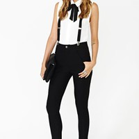 Riot Maker Suspender Pant