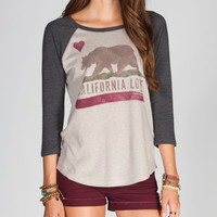 BILLABONG West Coast Womens Baseball Tee