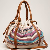 AEO OVERSIZED WOVEN SATCHEL