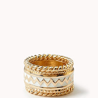 Zigzag Ring Set