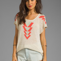 Eternal Sunshine Creations Arrows Tee in Birch from REVOLVEclothing.com