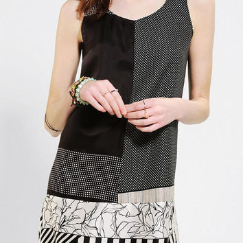 Urban Renewal Pieced Scarf Dress
