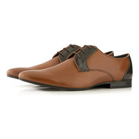 'Fiz' Tan Pointed Shoes - Dress Shoes  - Shoes and Accessories