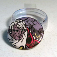"Comic Book 1.5"" Button// X-Statix// Orphan"