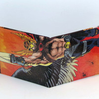 Comic Book Wallet// Hawkman