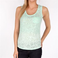 Silver Jeans Company Juniors Burnout Tank at Von Maur