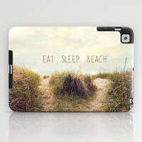 eat sleep beach iPad Case by Sylvia Cook Photography