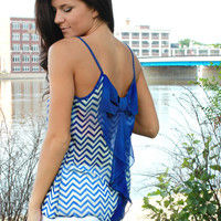 Bow-tique Chevron Tank