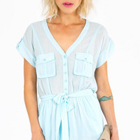 Basic Space Romper $36