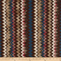 Stretch Messina Knit Chevron Brown - Discount Designer Fabric -  Fabric.com