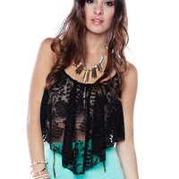 Papaya Clothing Online :: FLORAL LACE TOP
