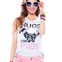 Papaya Clothing Online :: HUGS-FOR-PUGS  TANK