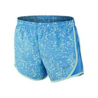 "Nike Store. Nike GFX Tempo 4"" Girls' Running Shorts"