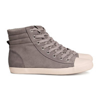 Imitation Leather Sneakers - from H&M