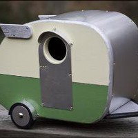 Vintage Camper Birdhouse by jumahl on Etsy