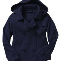 Uniform hooded fleece coat | Gap