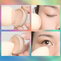 4pc Pro Beauty Flawless Makeup Blender Foundation Puff Multi Shape Sponges