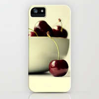 cherries iPhone & iPod Case by ingz