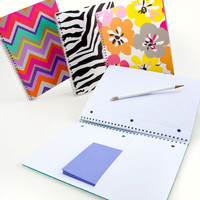 Capri Spiral Notebook - See Jane Work