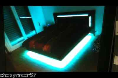 RGB LED COLOR CHANGING BEDROOM BED ROOM MOOD ACCENT AMBIANCE LIGHTING LIGHTS KIT