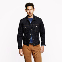 Denim jacket - cotton - Men's outerwear - J.Crew