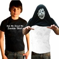 Ask Me About My Zombie Shirt T-Shirt #17