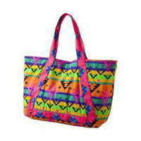 Item: Xhilaration® Orange Neon Print Tote
